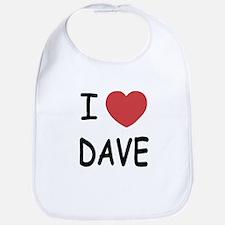 I heart Dave Bib