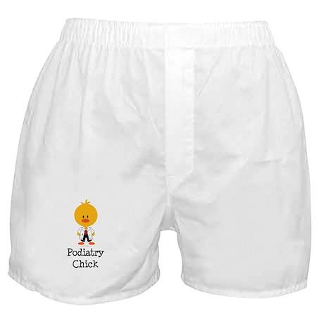 Podiatry Chick Boxer Shorts