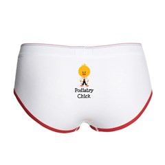 Podiatry Chick Women's Boy Brief