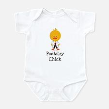 Podiatry Chick Infant Bodysuit