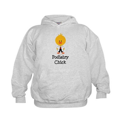 Podiatry Chick Kids Hoodie