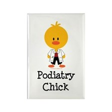 Podiatry Chick Rectangle Magnet