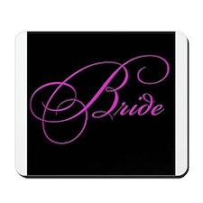 Bride in black Mousepad