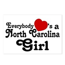 Everybody Hearts a NC Girl Postcards (Package of 8