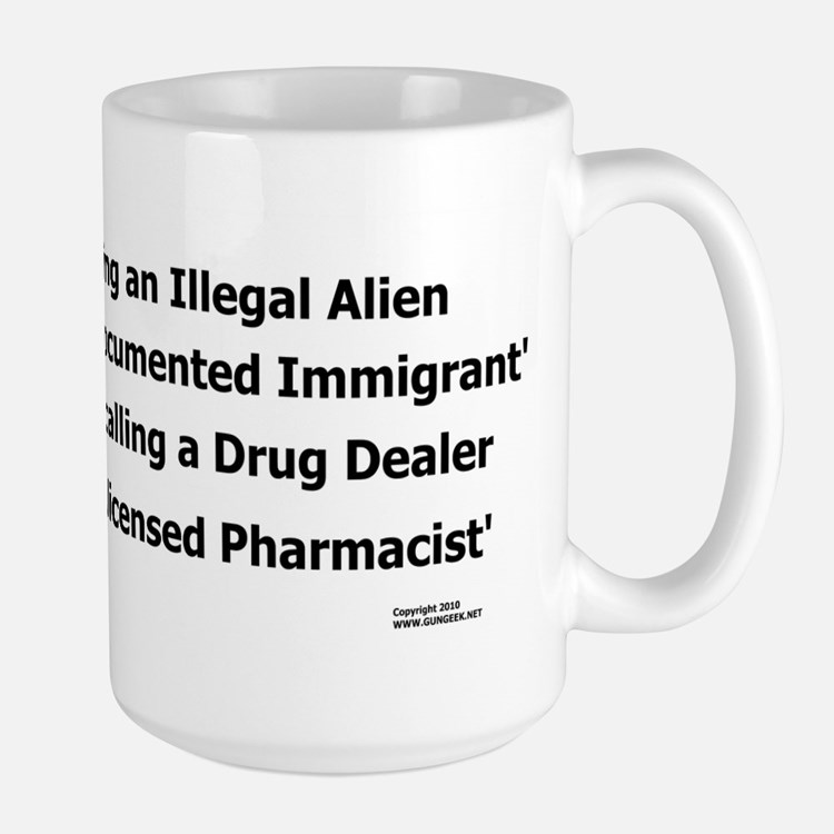 Undocumented Immigrant Large Mug
