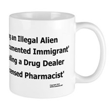 Undocumented Immigrant Small Mug