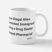 Undocumented Immigrant Small Small Mug