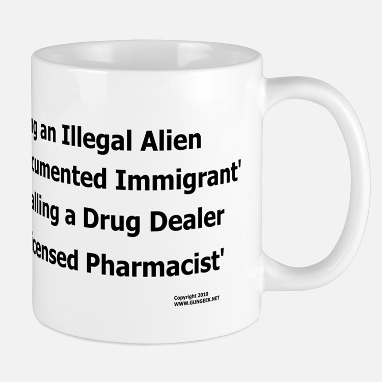 Undocumented Immigrant Small Small Mug