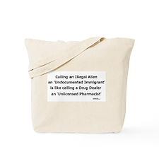 Undocumented Immigrant Tote Bag