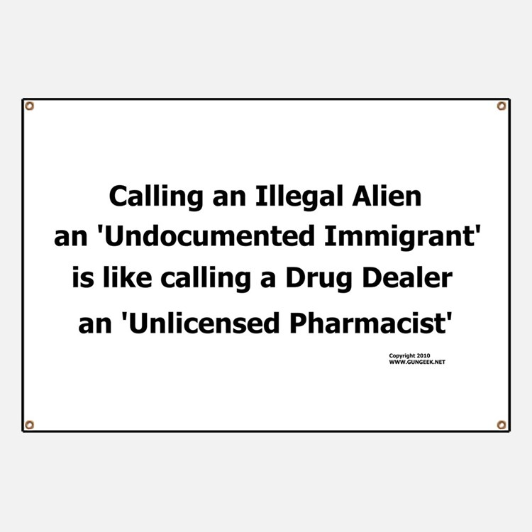 Undocumented Immigrant Banner