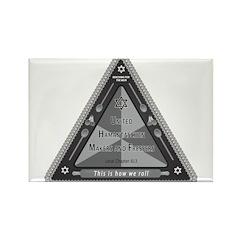 United Hamantaschen Makers Rectangle Magnet-10 pk