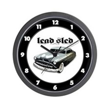 Lead Sled Wall Clock