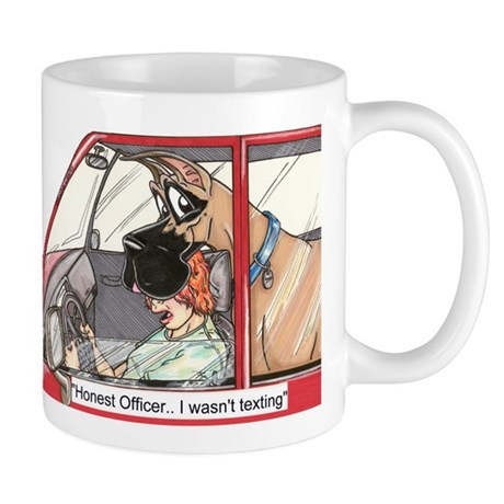 CF Honest Officer Mug
