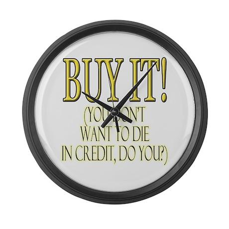 Buy it! Large Wall Clock