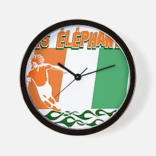 Ivorian Soccer Wall Clock