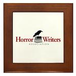 Horror Writers Association Framed Tile
