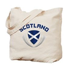 Soccer Crest SCOTLAND Tote Bag
