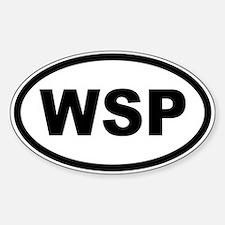 WSP Sticker (Oval)