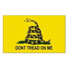 Gadsden Flag-DONT TREAD ON ME Decal