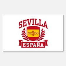 Sevilla Espana Sticker (Rectangle)