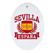 Sevilla Espana Ornament (Oval)