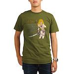 Freya, design 2 Organic Men's T-Shirt (dark)