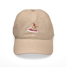 Sock Monkey Jet Ski Baseball Baseball Cap