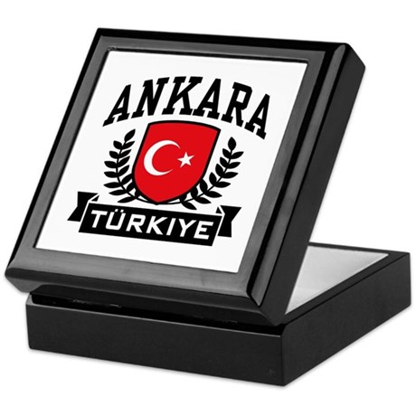Ankara Turkiye Keepsake Box
