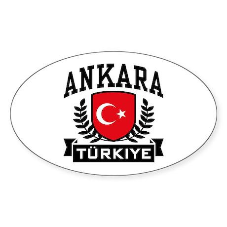 Ankara Turkiye Sticker (Oval)