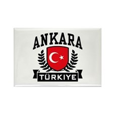 Ankara Turkiye Rectangle Magnet