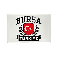 Bursa Turkiye Rectangle Magnet