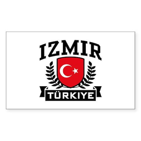 Izmir Turkiye Sticker (Rectangle)