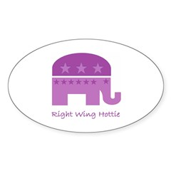 Right Wing Hottie Decal