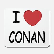I heart Conan Mousepad