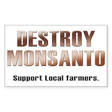 Destroy Monsanto Decal