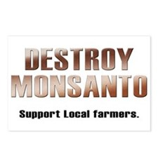 Destroy Monsanto Postcards (Package of 8)