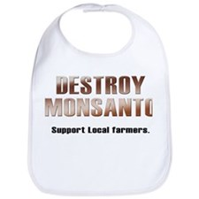 Destroy Monsanto Bib