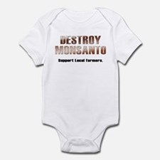 Destroy Monsanto Infant Bodysuit