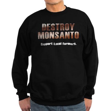 Destroy Monsanto Sweatshirt (dark)
