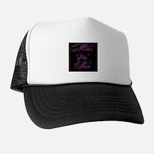 Mother of the Bride - black Trucker Hat