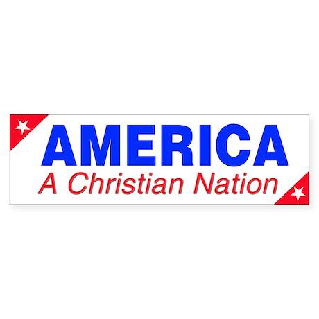 Bible Designs for America Sticker (Bumper)
