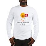 Team Swiss Chick Long Sleeve T-Shirt