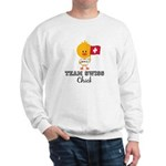 Team Swiss Chick Sweatshirt
