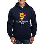 Team Swiss Chick Hoodie (dark)