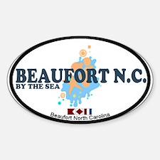 Beaufort NC - Seashells Design Decal