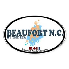 Beaufort NC - Seashells Design Decal