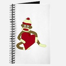 Sock Monkey Heart Journal