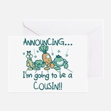 Veggies Future Cousin Greeting Card