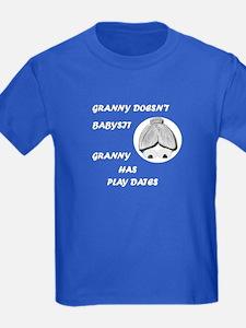 GRANNY DOESN'T BABYSIT T