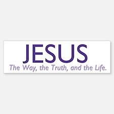 Jesus the Way Sticker (Bumper)